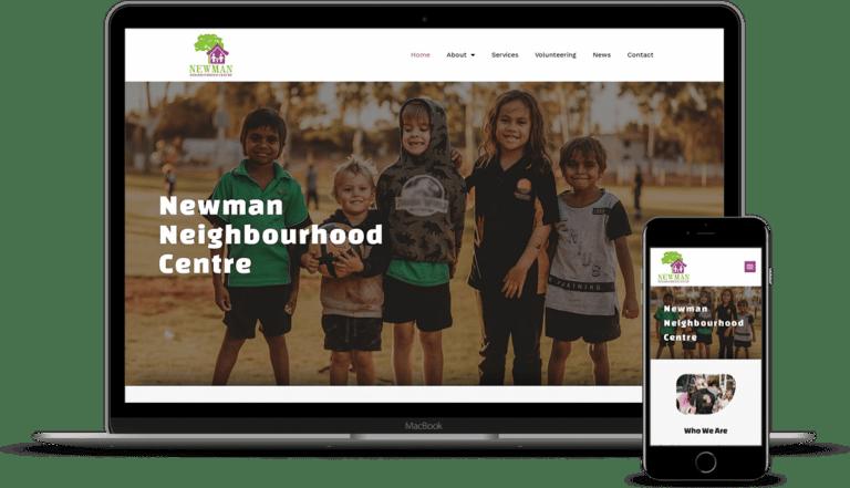 Newman Neighbourhood Centre Website