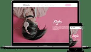 Hair Salon Template Kit