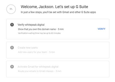 How To Setup A Custom Email Address With Google Workspace 3