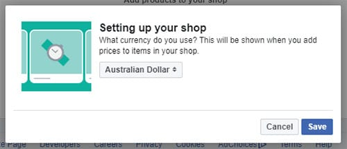How To Create A Facebook Shop Outside The US In 2020 3