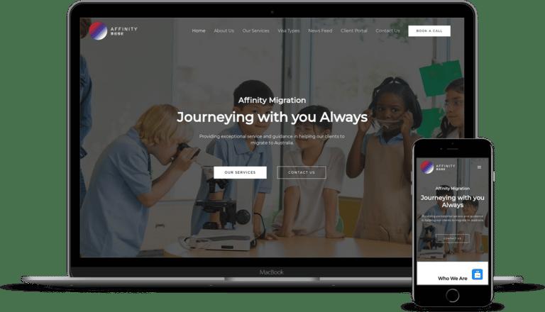 Affinity Migration Website