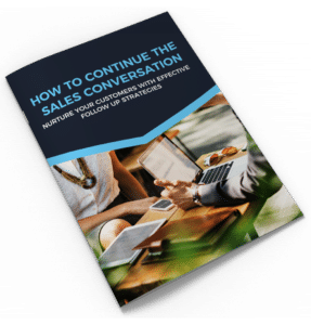 How To Continue The Sales Conversation