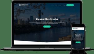 Eleven Plus Studio Website