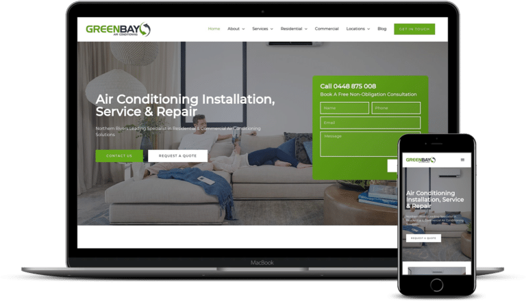 Green Bay Air Conditioning Website