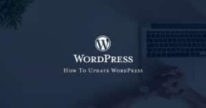 How To Update WordPress